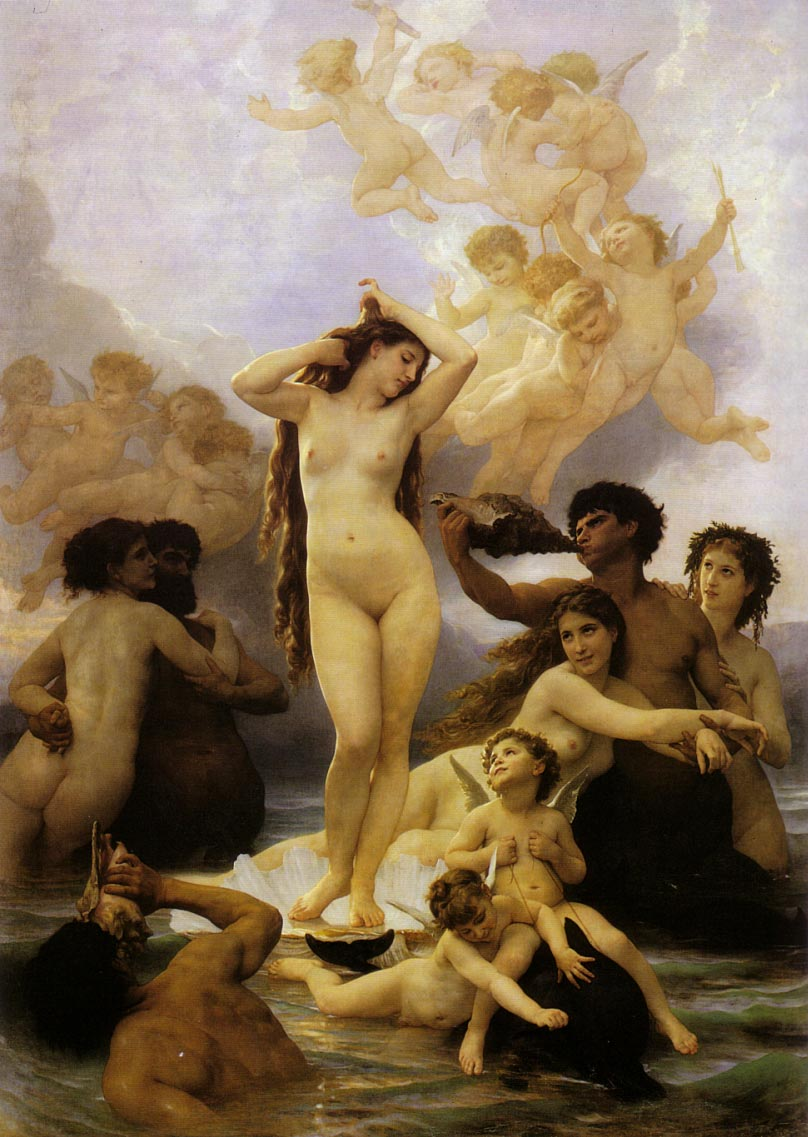 Bouguereau, William (1825-1905)pittore francese Classicismo