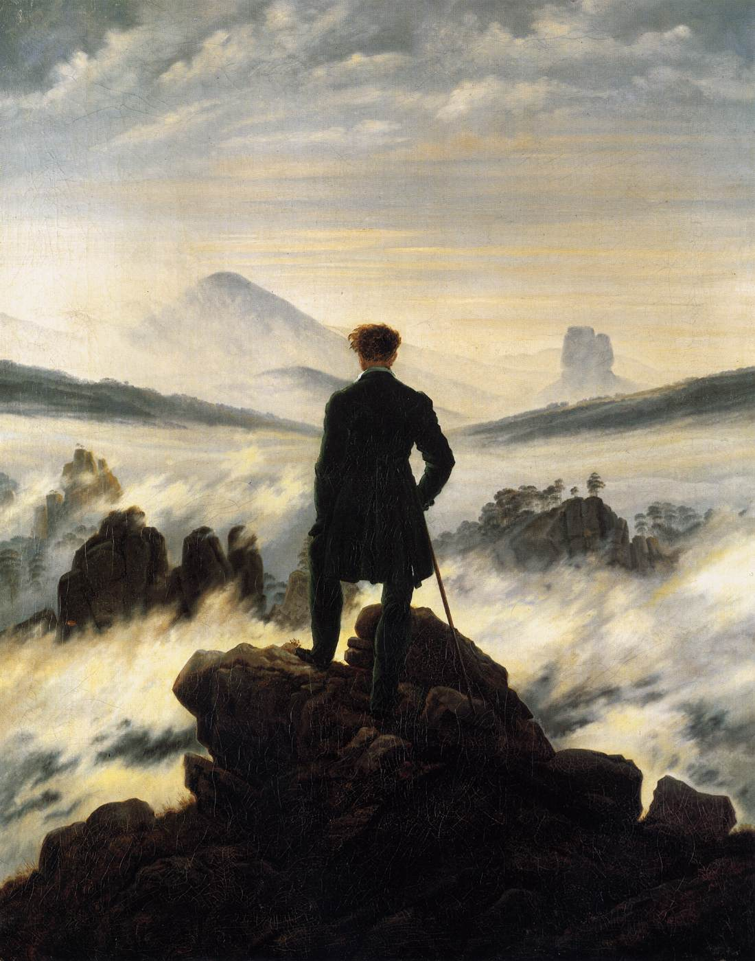 Caspar David Friedrich (1774-1840) Pittore tedesco romantici