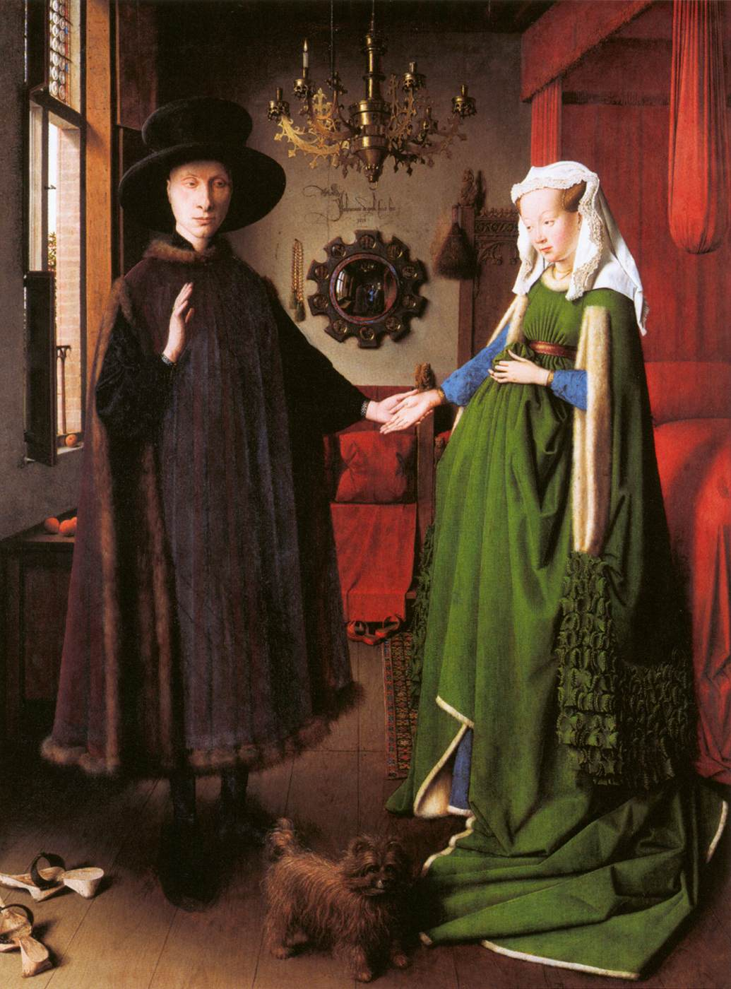 Eyck, van Jan (1390-1441) Pittore Fiammingo