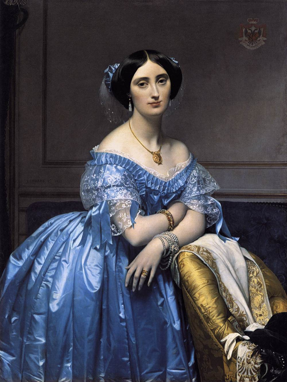 Ingres J.A.Dominique (1780-1867)Neoclassico