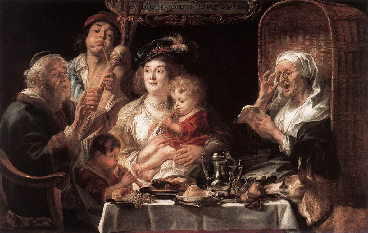 Jordaens Jacob(1593-1678)Barocco Fiammingo