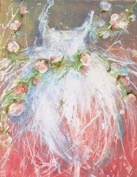 Dipinti a mano dipinti floreali dipinti di fiori for Fiori di ciliegio dipinti