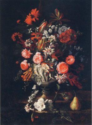 Dipinti nature morte dipinti fiori classici for Vasi di fiori dipinti